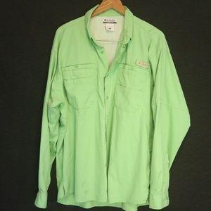Columbia Men's L Shirt PFG Long Sleeve Vented